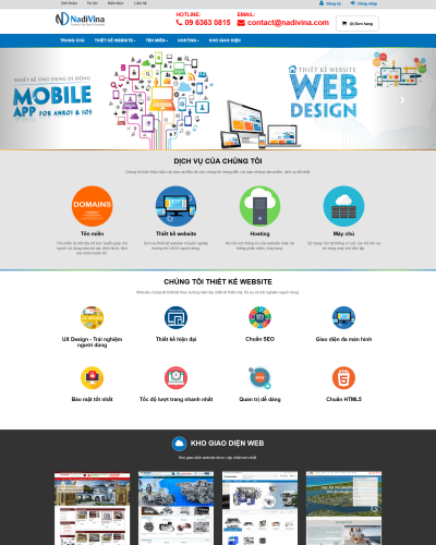 Dự án kho website